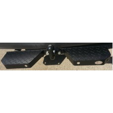 Towbar Rear Step Heavy Duty Double, Black (CPDS121)