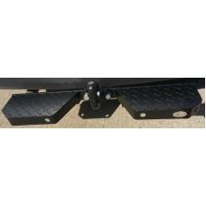 Towbar Rear Step Heavy Duty Double, Black (CPDS121)