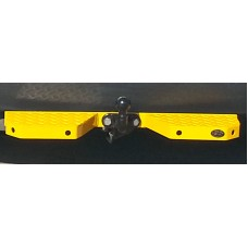 Towbar Rear Step Heavy Duty Double, Yellow (CPDS122)