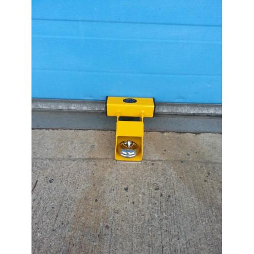 Garage Door Lock Heavy Duty Defender Security System Yellow Cpgl226