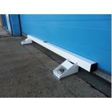 Garage Door Lock Heavy Duty Defender Security Bar System White (CPGL229)