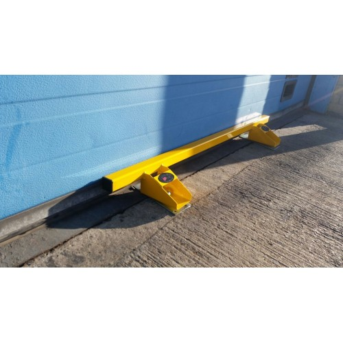 Garage Door Lock Heavy Duty Defender Security Bar System Yellow