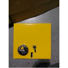 Winter Wheel Locking Plates Pair with Padlocks (CPWL222)